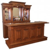 Hillsboro Basic Back Bar-Custom made in the United States